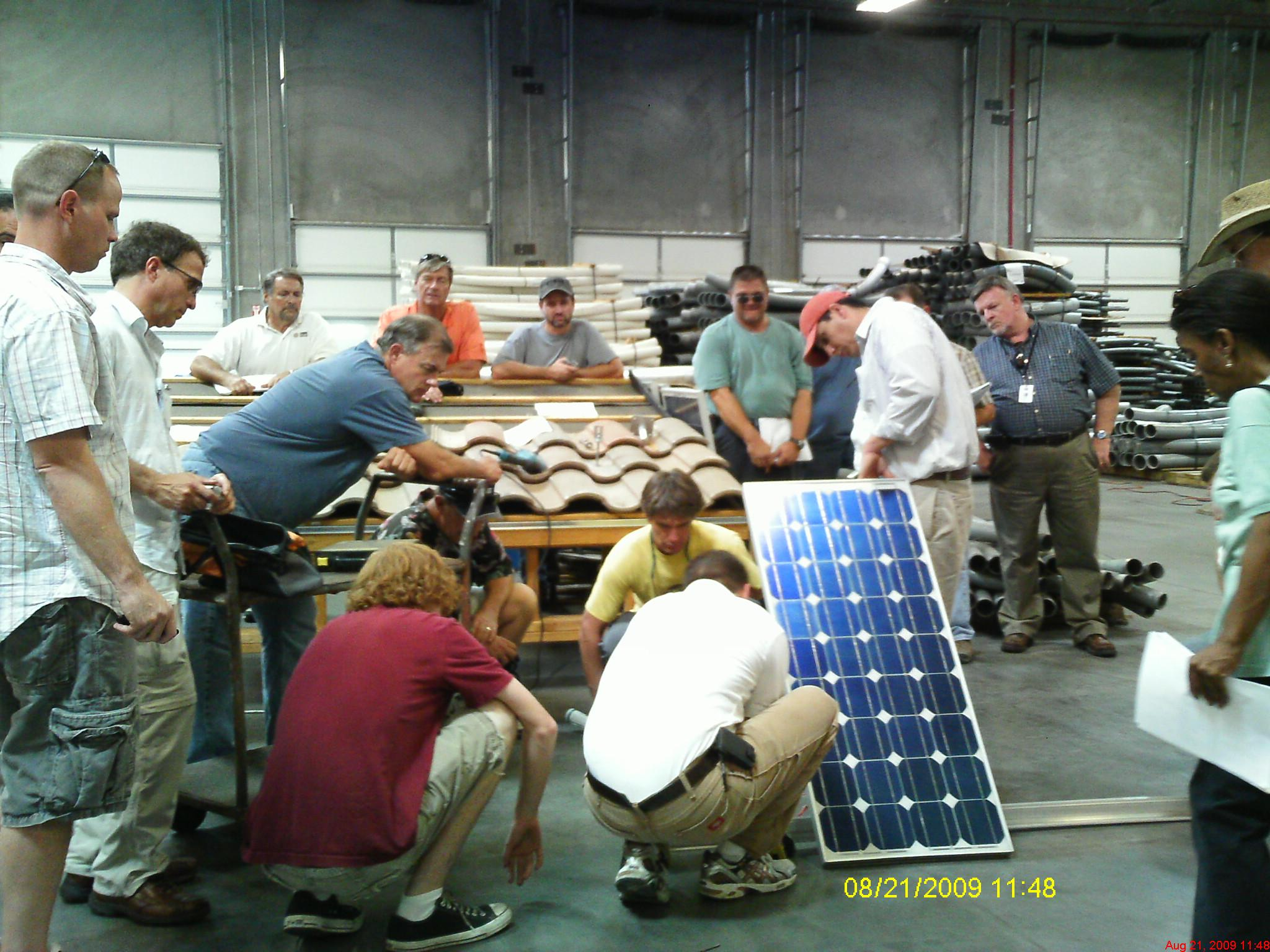 solar school trains installers to capture the sun donna marie bertault recently opened erenewable resource group the first licensed renewable energy vocational school in arizona