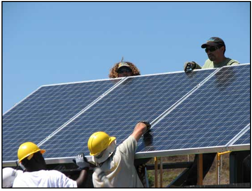 Jobs in the Solar Energy Industry that don't Require a Bachelors